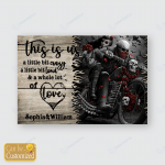 Motorbikes Motorcycles Bikers Couples Posters