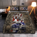 American Hunting Blankets / Quilts / Bedset