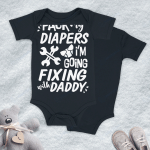 Mechanic Diapers For Babies