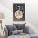 Cycling Canvas The World Map