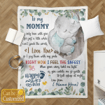 To My Mommy Gift For Mother Day Blankets Quilts