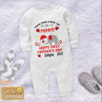 Happy First Mother's Day Baby One Piece Shirts