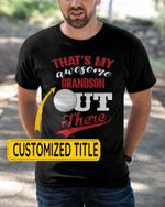 Personalized That's My Awesome Kids Out There Hockey Sports - Grandsons Granddaughters Grandkids Shirts / Hoodies / Mugs / Cups / Totes / Hand Bags