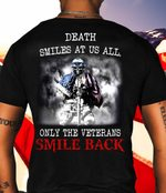 Only The Veterans Smile Back Stickers Shirts Hoodies Cups Mugs Totes Handbags