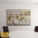 Personalized Grandma's Kitchen Canvases Pictures Puzzles Posters Quilts Blankets