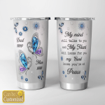 Personalized Mom And Dad In Heaven (Tumblers, Cups, Tracker Bottles)