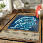 Blue Eyes White Dragon Area Rug Gifts Canvases Posters Pictures Puzzles Quilts Blankets Shower Curtains