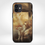 Jesus And Lamb (Christs - Christians, Phone Cases)