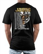 Jesus Is My Everything (Christs - Christians, Vinyl Stickers, Shirts, Hoodies, Cups, Mugs, Totes, Handbags)