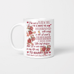 I'm Not Widow (For Loss Of Husband In Heaven Vinyl Stickers, Shirts, Hoodies, Cups, Mugs, Totes, Handbags)