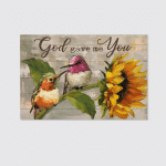 God Gave Me You (Jesus - Christs - Christians, Canvases, Pictures, Puzzles, Posters, Quilts, Blankets, Flags, Bath Mats, Led Lamp, Stickers)