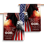 One Nation Under God (Jesus - Christs - Christians, Flags, Canvases, Pictures, Puzzles, Quilts, Blankets, Shower Curtains, Led Lamp, Stickers)