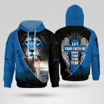 Let Your Faith Bigger Than Your Fear (Jesus- Christs - Christians, Hawaii Shirts, Hoodies, Sweatshirts, Shirts, Tank Tops)