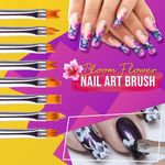 Nail Bloom Flower Nail Art Brush Pen
