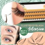 Cluster Eyelashes Eyelash Extension  [BUY ONE GET ONE FREE]