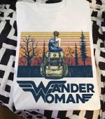 Wander woman wonder woman style for hiking lover vintage