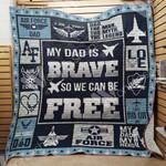 Air Force Dad Blanket MY2203 82O47