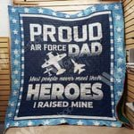 Veteran Air Force Dad Blanket M2201 83O34