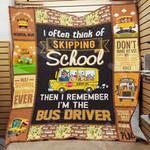 Bus Driver Blanket SEP1903 77O42