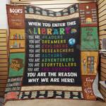 Librarian Blanket SEP1102 76042