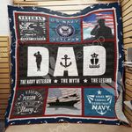 Navy Dad Blanket MY2801 81O42