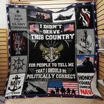 Navy Veteran Blanket SEP1603 95O51