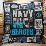 Navy Sailor Blanket JN0302 81O34