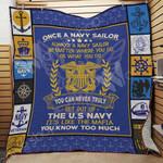 Navy Veteran Blanket MY2901 82O44