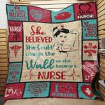 Nurse A2203 85O36 Blanket