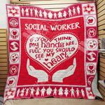 Social Worker Blanket SEP1102 75O57