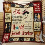 Social Worker Blanket SEP1103 85O49