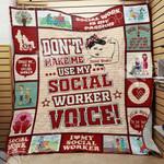 Social Worker Blanket SEP1102 78O36
