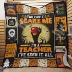 Teacher Halloween Blanket AU1402 95O34