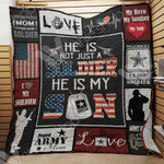 Soldier Mom Blanket SEP0603 85O34