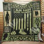 Female Veteran Blanket AU0501 90O35