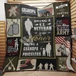 Veteran Dad Blanket MY2402 81O42
