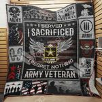 Army Veteran Blanket JN1801 85O35