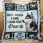 Husky Dog Blanket OCT2202 85O34