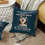 Siberian Husky Dog Cushion Cover OCT1503 73O50