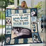 Siberian Husky Dog Blanket DCB3001 70O50