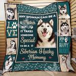 Siberian Husky Dog Blanket OCT3001 77O58