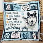 Siberian Husky Dog Blanket DCB1601 78O58
