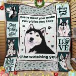 Siberian Husky Dog Blanket OCT2501 79O52