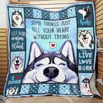 Siberian Husky Dog Blanket NOV1102 90O47