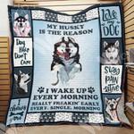 Siberian Husky Dog Blanket NOV2903 69O49