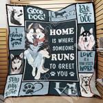 Siberian Husky Dog Blanket NOV3002 69O49