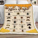 Bee Sherpa Blanket JR1601 77O42