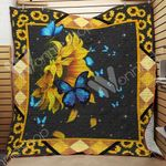 Butterfly Sunflower Blanket MY0601 85O43