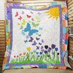 Butterfly Sunflower Blanket MY0801 85O41