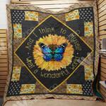 Butterfly Sunflower Blanket MY0404 85O34
